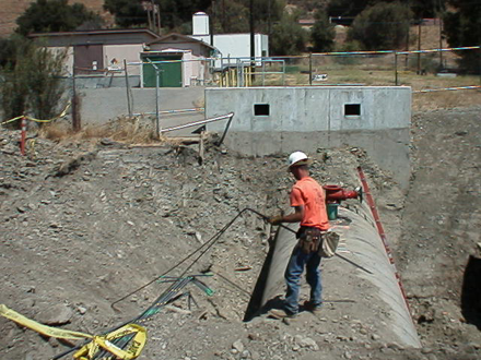 Tap Master, Inc. - Sunol pumping plant - SF public utilities commission for the Hetch Hetchy water line