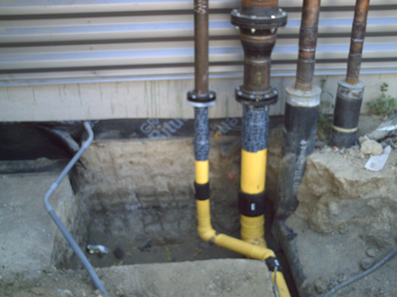 Tap Master, Inc. - Hot taps for a new gas manifold at Kaiser in Vacaville, CA